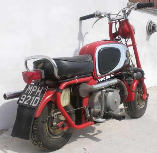 Honda Monkey Bike